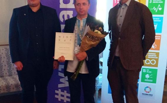 Наш викладач вдруге переміг у міжнародному конкурсі WikiGap Challenge