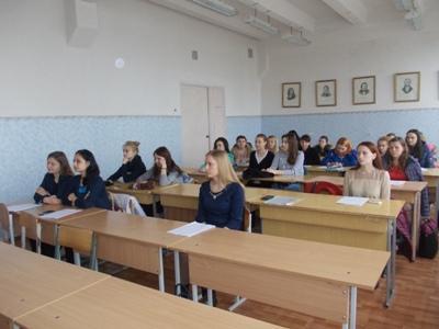 Студентська наукова конференція. Секція української літератури